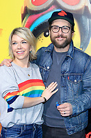 """LOS ANGELES - FEB 2:  Mary Elizabeth Ellis, Charlie Day at """"The Lego Movie 2: The Second Part"""" Premiere at the Village Theater on February 2, 2019 in Westwood, CA"""