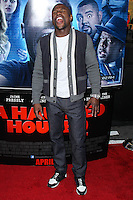 "LOS ANGELES, CA, USA - APRIL 16: Floyd Mayweather Jr. at the Los Angeles Premiere Of Open Road Films' ""A Haunted House 2"" held at Regal Cinemas L.A. Live on April 16, 2014 in Los Angeles, California, United States. (Photo by Xavier Collin/Celebrity Monitor)"