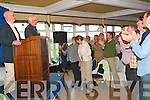 OVATION: Seamus Heaney getting a standing ovation after his reading in the Arms Hotel on Thursday night.   Copyright Kerry's Eye 2008