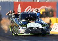 Feb 3, 2016; Chandler, AZ, USA; NHRA funny car driver Alexis DeJoria during pre season testing at Wild Horse Pass Motorsports Park. Mandatory Credit: Mark J. Rebilas-USA TODAY Sports
