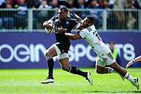 Semesa Rokoduguni of Bath Rugby goes on the attack. European Rugby Challenge Cup Quarter Final, between Bath Rugby and CA Brive on April 1, 2017 at the Recreation Ground in Bath, England. Photo by: Patrick Khachfe / Onside Images