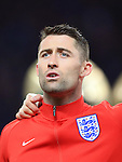 England's Gary Cahill in action during the International Friendly match at Olympiastadion.  Photo credit should read: David Klein/Sportimage