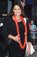 NEW YORK, NY - October 08: Tia Carrere at Good Morning America promoting Cooking Hawaiian Style on October 08, 2018 in New York City. <br /> CAP/MPI/RW<br /> &copy;RW/MPI/Capital Pictures