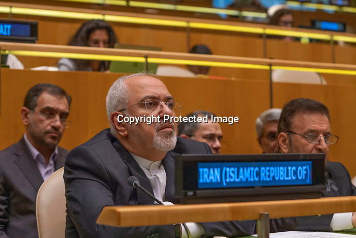 Opening Plenary Meeting of the Nelson Mandela Peace Summit<br /> <br /> His Excellency Hassan ROUHANIPresident of the Islamic Republic of Iran<br /> <br /> Mr Zarif Iran FM