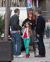 "Axelle Red & family attend Beyonce""s concert in Antwerp Belgium"