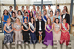 The Kerry Rose contestants with Kerry Rose 2014 Mary Hickey, host Daithi O Se and judges at the reception in Ballyroe heights Hotel before the start of the Kerry Rose Selection on Saturday night