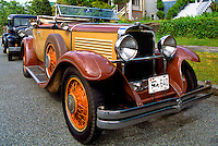 An Antique Nash Cabriolet Car