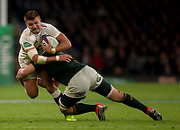 England's Henry Slade in action during todays match<br /> <br /> Photographer Bob Bradford/CameraSport<br /> <br /> Quilter Internationals - England v South Africa - Saturday 3rd November 2018 - Twickenham Stadium - London<br /> <br /> World Copyright © 2018 CameraSport. All rights reserved. 43 Linden Ave. Countesthorpe. Leicester. England. LE8 5PG - Tel: +44 (0) 116 277 4147 - admin@camerasport.com - www.camerasport.com