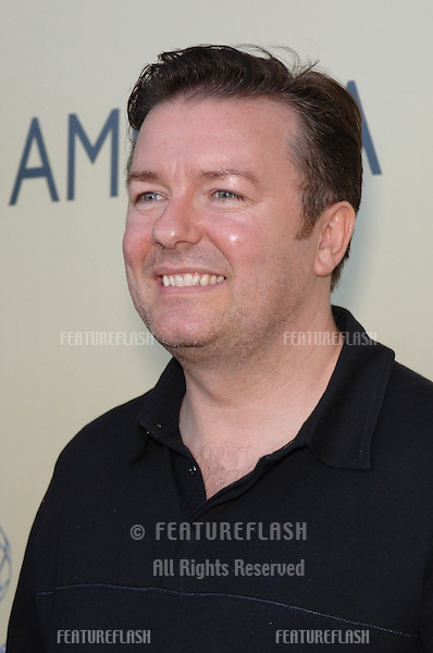 Actor RICKY GERVAIS at the BAFTA/LA & Academy of TV Arts & Sciences 3rd Annual Tea Party honoring Emmy nominees..September 17, 2005  Los Angeles, CA..© 2005 Paul Smith / Featureflash