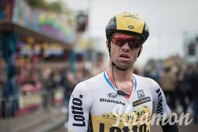 Tom Van Asbroeck (BEL/LottoNL-Jumbo) post-finish<br /> <br /> 83rd Nationale Sluitingsprijs Putte-Kapellen 2016 (UCI Europe Tour cat 1.1 / 189km)