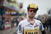 Tom Van Asbroeck (BEL/LottoNL-Jumbo) post-finish<br /> <br /> 83rd Nationale Sluitingsprijs Putte-Kapellen 2016 (UCI Europe Tour cat 1.1 / 189km)