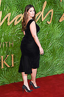 Ashley Graham<br /> arriving for The Fashion Awards 2017 at the Royal Albert Hall, London<br /> <br /> <br /> ©Ash Knotek  D3356  04/12/2017