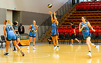 29th December 2019; Bendat Basketball Centre, Perth, Western Australia, Australia; Womens National Basketball League Australia, Perth Lynx versus Canberra Capitals; Abby Cubillo of the Canberra Capitals warms up before the start of the match - Editorial Use
