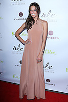 "BEVERLY HILLS, CA, USA - MARCH 13: Alessandra Ambrosio at the Alessandra Ambrosio Launch of ""ale by Alessandra"" held at Planet Blue on March 13, 2014 in Beverly Hills, California, United States. (Photo by David Acosta/Celebrity Monitor)"