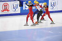 "SHORT TRACK: MOSCOW: Speed Skating Centre ""Krylatskoe"", 14-03-2015, ISU World Short Track Speed Skating Championships 2015, ©photo Martin de Jong"