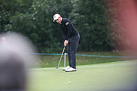 Matthew Fitzpatrick (ENG) in action during the Final Round of the British Masters 2015 supported by SkySports played on the Marquess Course at Woburn Golf Club, Little Brickhill, Milton Keynes, England.  11/10/2015. Picture: Golffile | David Lloyd<br /> <br /> All photos usage must carry mandatory copyright credit (© Golffile | David Lloyd)