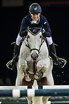 Katharina Offel of Ukraine rides Charlie in action during the Longines Grand Prix as part of the Longines Hong Kong Masters on 15 February 2015, at the Asia World Expo, outskirts Hong Kong, China. Photo by Victor Fraile / Power Sport Images
