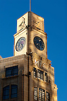 The former MLC building in New Zealand's capital city was completed in 1940 on land reclaimed in the mid nineteenth century by the Provincial Council. The first occupant was Wellington's first Presbyterian church, St Andrews. The clock tower of this building was purchased in 1889 and was formerly in the tower of the Post Office. It was removed in 1942 and installed in this building in 1954.