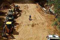07.08.2019 - Obras do Vale do Anhangabáu em SP