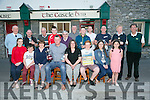 Presentation of John Kenny Memorial Golf Cup to winners Castle Bar Golf Society on Friday