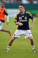 CARSON, CA – August 20, 2011: LA Galaxy forward Robbie Keane (14) during the match between LA Galaxy and San Jose Earthquakes at the Home Depot Center in Carson, California. Final score LA Galaxy 2, San Jose Earthquakes 0.