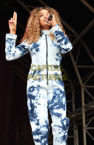 Yasmin Broom of Four of Diamonds perform on Day Two of British Summertime at Hyde Park, London on July 6th 2019<br /> CAP/ROS<br /> ©ROS/Capital Pictures