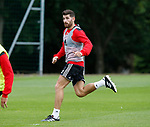 Ched Evans of Sheffield Utd during the training session at the Shirecliffe Training complex, Sheffield. Picture date: June 27th 2017. Pic credit should read: Simon Bellis/Sportimage