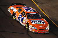 Apr 11, 2008; Avondale, AZ, USA; NASCAR Nationwide Series driver Eric McClure during the Bashas Supermarkets 200 at the Phoenix International Raceway. Mandatory Credit: Mark J. Rebilas-