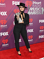 14 March 2019 - Los Angeles, California - . 2019 iHeart Radio Music Awards - Press Room held at Microsoft Theater. Photo Credit: Birdie Thompson/AdMedia