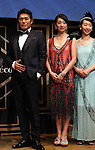 """May 20, 2016, Tokyo, Japan - Japanese actor Katsunori Takahashi (L) poses as he attends the opening ceremony of """"Aperitif 365"""" event in Tokyo on Friday, May 20, 2016. Thousands of visitors are expecting to enjoy aperitifs and hors d'oeuvres at the three-day event for the promotion of French foods and drinks.  (Photo by Yoshio Tsunoda/AFLO) LWX -ytd-"""