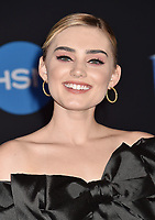 LOS ANGELES, CA - NOVEMBER 29: Meg Donnelly attends the Premiere Of Disney's 'Mary Poppins Returns' at El Capitan Theatre on November 29, 2018 in Los Angeles, California.<br /> CAP/ROT/TM<br /> &copy;TM/ROT/Capital Pictures