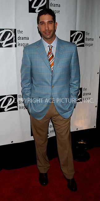 WWW.ACEPIXS.COM . . . . .....NEW YORK, MAY 5, 2006....David Schwimmer at the 72nd Annual Drama League Awards Ceremony and Luncheon.....Please byline: KRISTIN CALLAHAN - ACEPIXS.COM.. . . . . . ..Ace Pictures, Inc:  ..(212) 243-8787 or (646) 679 0430..e-mail: picturedesk@acepixs.com..web: http://www.acepixs.com