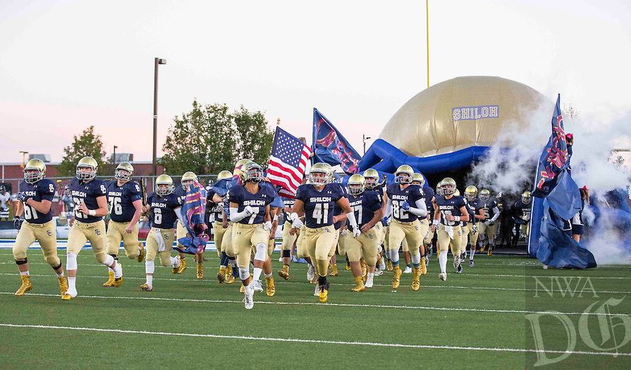 Photos by David Beach - at Champion Stadium, Springdale, AR, Friday October 7, 2016, (Prairie Grove Tigers vs Shiloh Christian Saints)