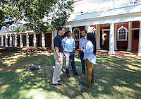 Darden leadership program with UVa students at the University of Virginia in Charlottesville, Va. Photo/Andrew Shurtleff