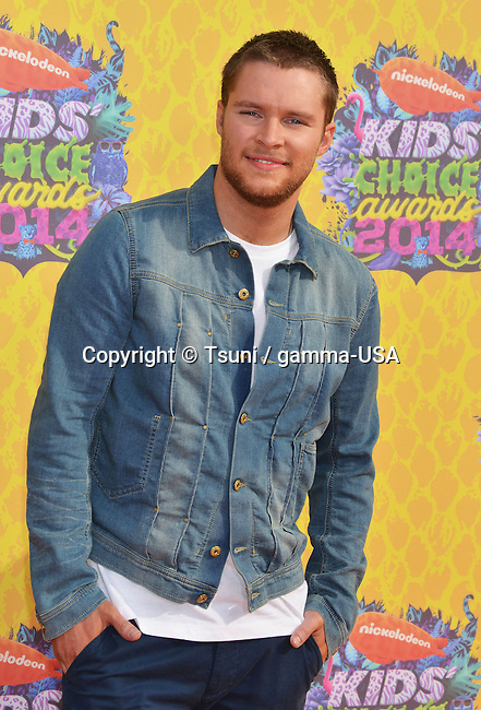 """Jack Reynor 348 at the NickelOdeon""""s 27th Annual Kids Choice Awards 2014 at the Gallen Center in Los Angeles."""