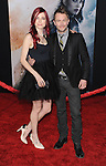 "Chris Hardwick and date at the premiere of Marvel's ""Thor The Dark World"" held at El Capitan Theatre Los Angeles, Ca. November 4, 2013"