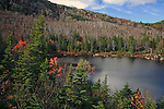 Tumbledown Pond on Tumbledown Mountain, Township 6, North of Weld, Maine, USA