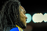Ma'a Nonu warms up before the Super Rugby match between the Hurricanes and Sharks at Westpac Stadium, Wellington, New Zealand on Saturday, 9 May 2015. Photo: Dave Lintott / lintottphoto.co.nz