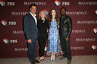 LOS ANGELES, CA - JUNE 8: Dominic West, Susanne Simpson, Lily Collins, David Oyelowo, at Les Miserables Photo Call at the Linwood Dunn Theater in Los Angeles, California on June 8, 2019.  <br /> CAP/MPI/SAD<br /> ©SAD/MPI/Capital Pictures