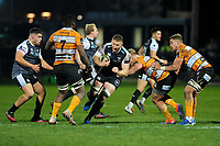 Bradley Davies of Ospreys in action during the Guinness Pro 14 Round 7 match between Ospreys and Cheetahs at The Gnoll in Neath, Wales, UK. Saturday 30 November 2019