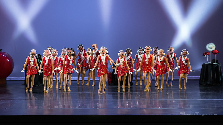 "3D Project Jazz Company, ""Miracle On Madison"", Saturday Matinee, 20 Dec. 2014, Cary Arts Center, Cary, North Carolina."