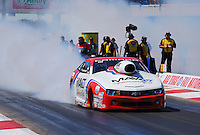 Sept. 21, 2013; Ennis, TX, USA: NHRA pro stock driver Greg Stanfield during the Fall Nationals at the Texas Motorplex. Mandatory Credit: Mark J. Rebilas-