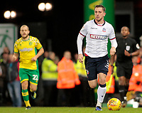 Bolton Wanderers' Andrew Taylor in action<br /> <br /> Photographer David Shipman/CameraSport<br /> <br /> The EFL Sky Bet Championship - Norwich City v Bolton Wanderers - Saturday 8th December 2018 - Carrow Road - Norwich<br /> <br /> World Copyright &copy; 2018 CameraSport. All rights reserved. 43 Linden Ave. Countesthorpe. Leicester. England. LE8 5PG - Tel: +44 (0) 116 277 4147 - admin@camerasport.com - www.camerasport.com