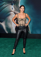 "LOS ANGELES, USA. September 29, 2019: Stephanie Cayo at the premiere of ""Joker"" at the TCL Chinese Theatre, Hollywood.<br /> Picture: Paul Smith/Featureflash"