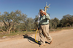 Samaria, Palestinian villager near Yanun