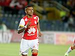 Independiente Santa Fe goleó 5 - 0 al Cúcuta Deportivo en el estadio Nemesio Camacho El Campín de Bogotá,