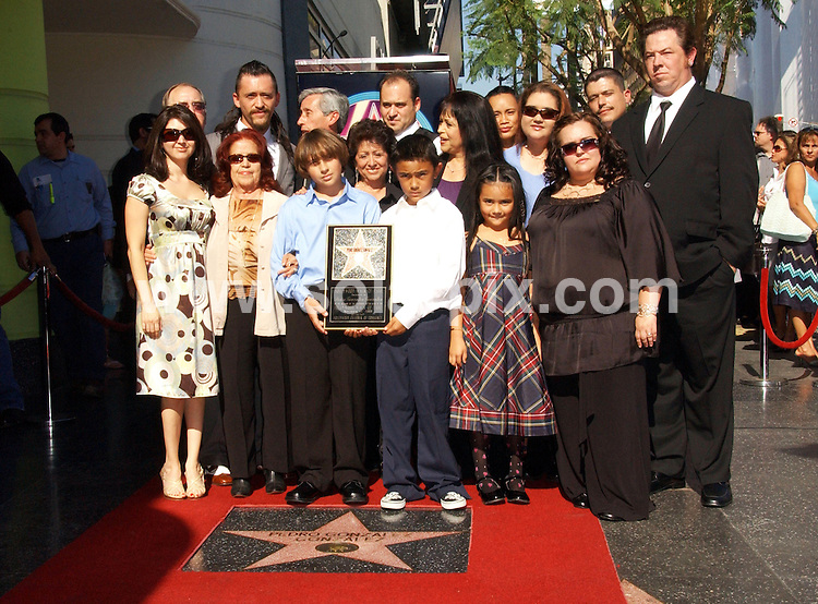**ALL ROUND PICTURES FROM SOLARPIX.COM**.**SYNDICATION RIGHTS FOR UK, SPAIN, PORTUGAL, AUSTRALIA, S.AFRICA & DUBAI (U.A.E) ONLY**.Hollywood actor Clifton Collins Jr. ,Pedro Gonzalez Gonzalez Honored With Posthumous Star On The Hollywood Walk Of Fame on 1555 Vine Street in Hollywood, California in USA ..This Pic:Clifton Collins Jr. and family..JOB REF:7898-PHZ/Albert L. Ortega    DATE:14-11-08 .**MUST CREDIT SOLARPIX.COM OR DOUBLE FEE WILL BE CHARGED* *UNDER NO CIRCUMSTANCES IS THIS IMAGE TO BE REPRODUCED FOR ANY ONLINE EDITION WITHOUT PRIOR PERMISSION*
