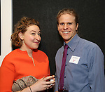 Sophie von Hasselberg and Matt Patterson attends the Vineyard Theatre's Annual Emerging Artists Luncheon at The National Arts Club on June 6, 2017 in New York City.