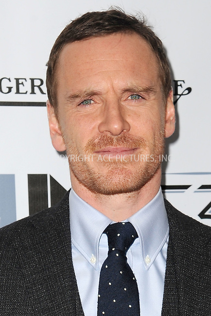 WWW.ACEPIXS.COM<br /> October 3, 2015 New York City<br /> <br /> Michael Fassbender attending the 53rd New York Film Festival premiere of 'Steve Jobs' at Alice Tully Hall, Lincoln Center on October 3, 2015 in New York City.<br /> <br /> Credit: Kristin Callahan/ACE Pictures<br /> <br /> Tel: (646) 769 0430<br /> e-mail: info@acepixs.com<br /> web: http://www.acepixs.com