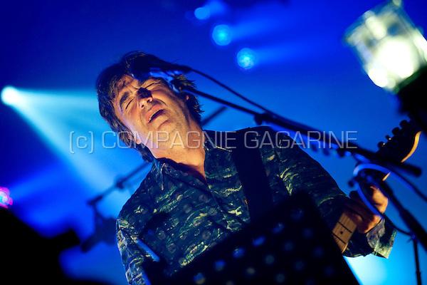 Jean-Louis Murat in concert at the Nuits du Botanique in Brussels (Belgium, 09/05/2010)